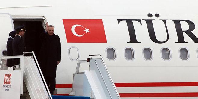 Cumhurbaşkanı Erdoğan'a Ordu yolunda hava muhalefeti engeli