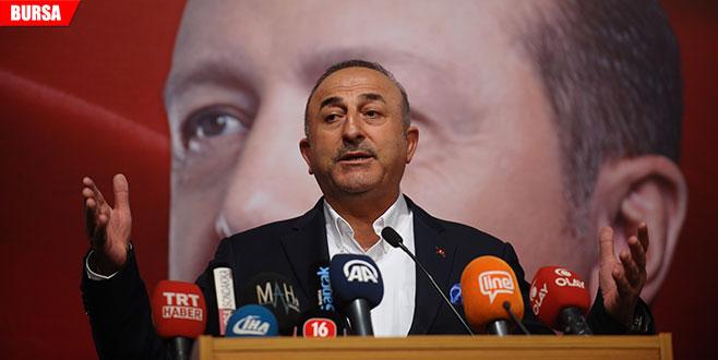 Çavuşoğlu: 'Yurtdışına kaçanların ensesindeyiz'