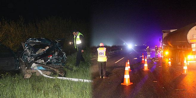 Düğünden dönen aile kaza yaptı: Ölü ve yaralılar var