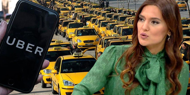 Uber- taksi tartışmasında tarafını seçti