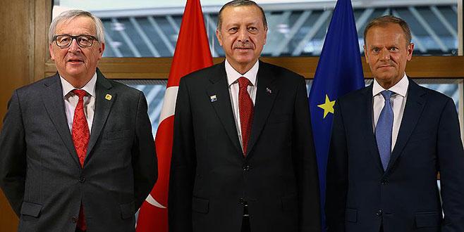 Türkiye-AB Zirvesi başladı