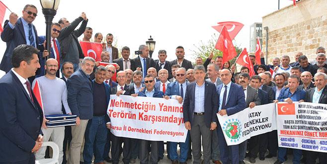 BİLDEF'TEN Mehmetçiğe moral ziyareti
