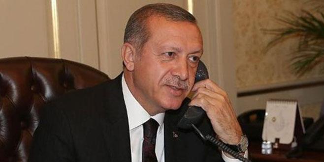 Cumhurbaşkanı Erdoğan'da iki kritik telefon görüşmesi