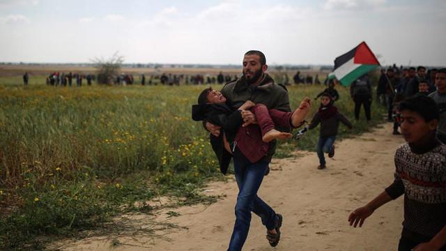 İsrail askerleri Filistinlilere ateş açtı: 7 ölü, 500 yaralı!