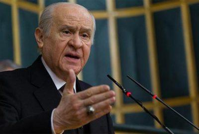 CHP'nin 'Elazığ afet bölgesi ilan edilsin' teklifine Bahçeli'den ret
