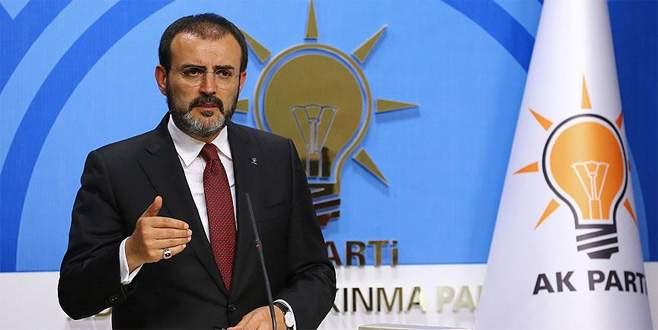 AK Parti: Operasyon öncesi Türkiye bilgilendirildi