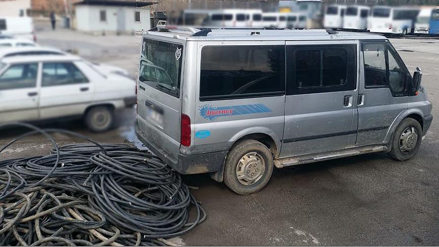 Kablo hırsızlarına 'Kirpi Operasyonu'