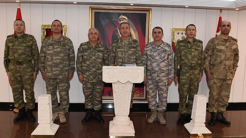 Genelkurmay Başkanı Akar: Bölücü terör örgütüne ağır kayıplar verdirildi