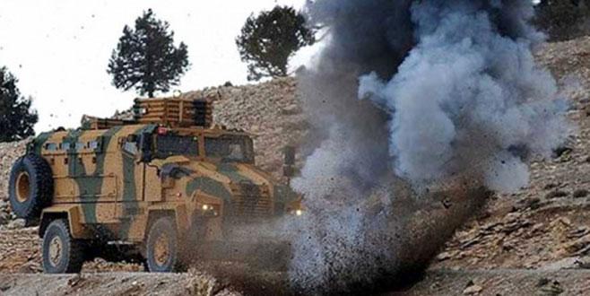 Afrin'den acı haber! 1 şehit 3 yaralı