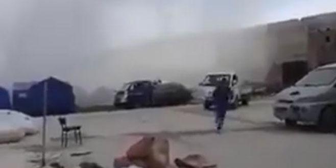 Esad, Türkiye'ye ait Doğu Guta'daki barınma merkezini vurdu!