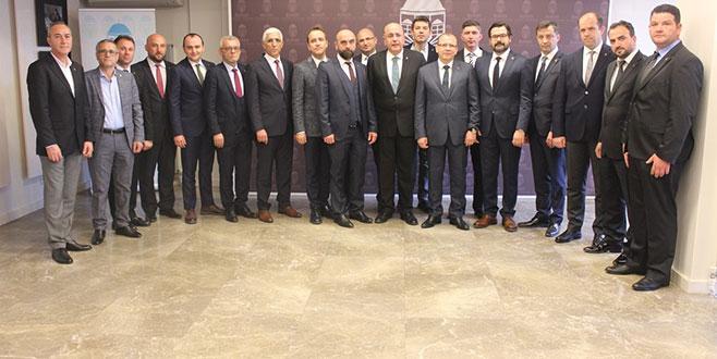 Bursa Ticaret Borsası meslek komiteleri seçimleri yapıldı.