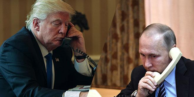 Trump Putin'den görüşme talep etti