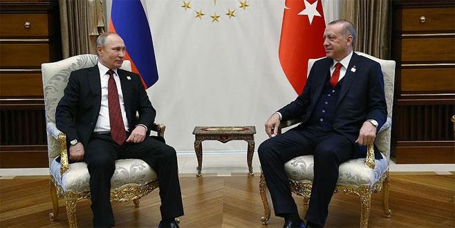 Erdoğan ile Putin baş başa görüştü: Putin'den S-400 açıklaması