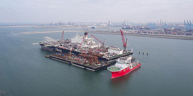 TürkAkım'ın ilk hattı mayısta tamamlanıyor