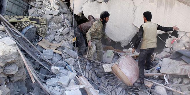 İdlib'de hava saldırıları sürüyor: 2 ölü, 18 yaralı