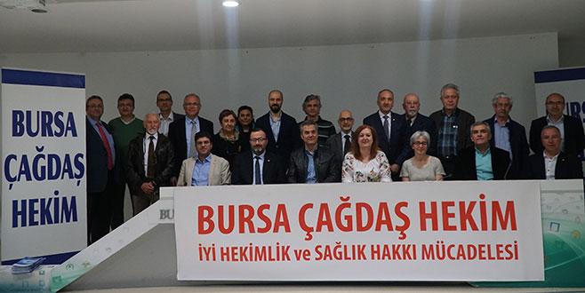 Bursa Tabip Odası'nda seçim heyecanı