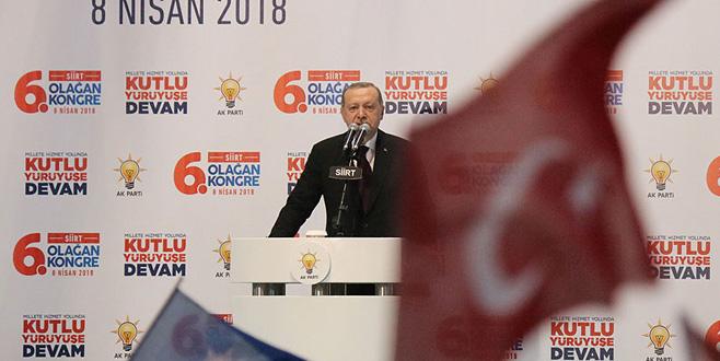 Cumhurbaşkanı Erdoğan: Cehenneme kadar yolunuz var