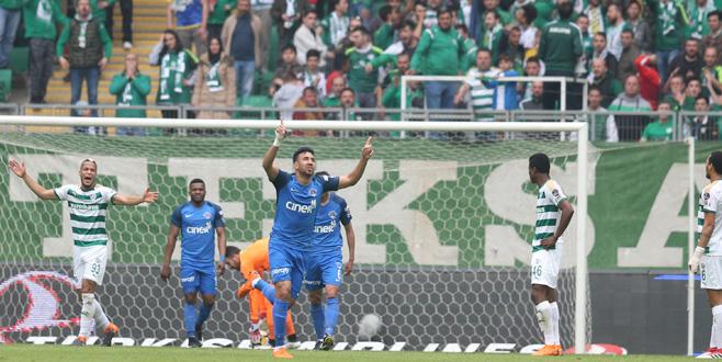 Bursaspor yine kaybetti: 0-1