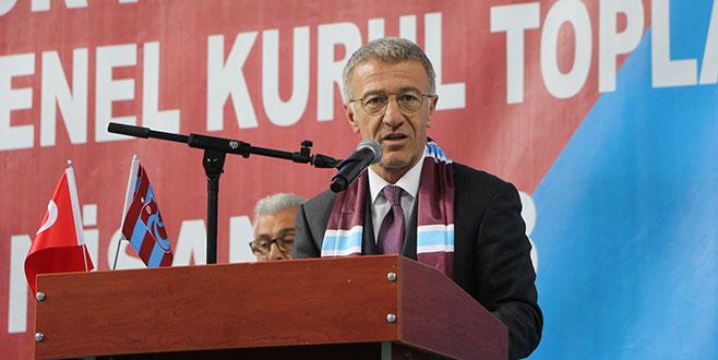 Ahmet Ağaoğlu Trabzonspor'un 17. başkanı oldu
