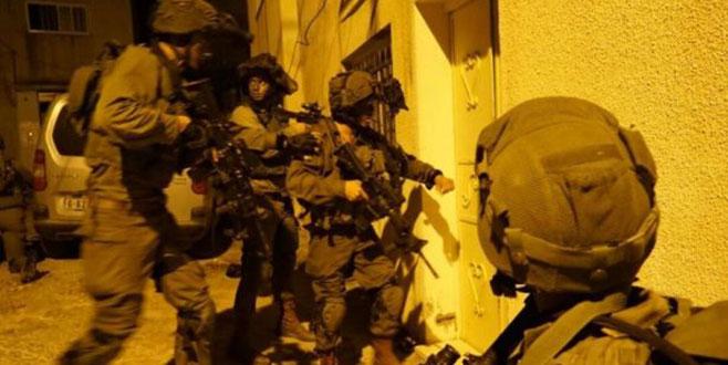 İsrail güçlerinden gece baskınları