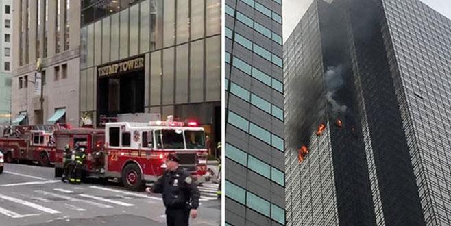 Trump Tower'da yangın!
