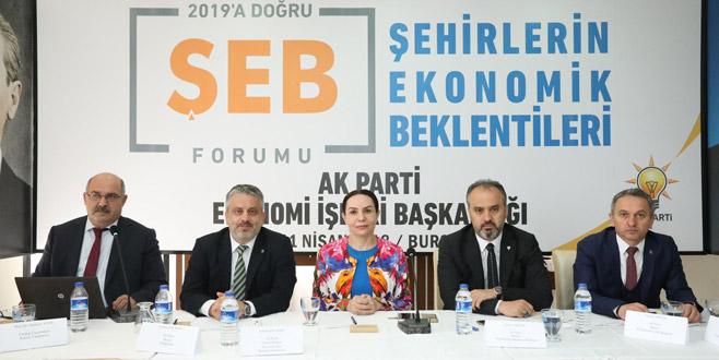Aktaş: 'Bursa'yı güzel günler bekliyor'