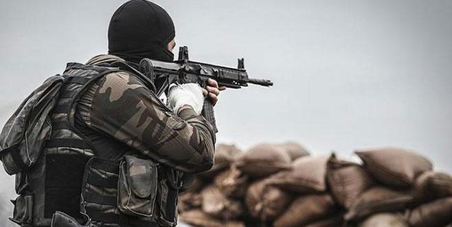 Sınır karakoluna Suriye'den taciz ateşi