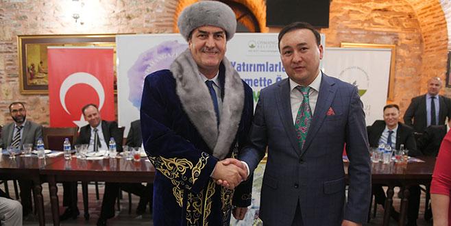 Osmangazi'ye Özbekistan'dan Kardeş Şehir