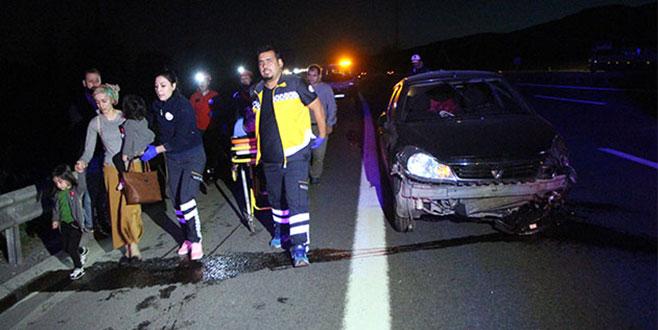 Birden fazla aracın karıştığı kazada 7 yaralı