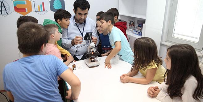 Çalı'da çocuklar bilimle buluşuyor