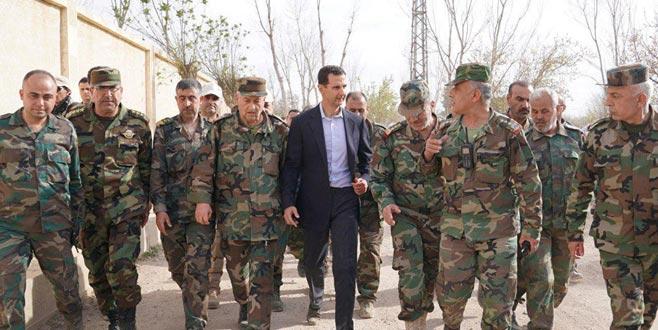 Operasyon sonrası Esad ilk kez görüntülendi