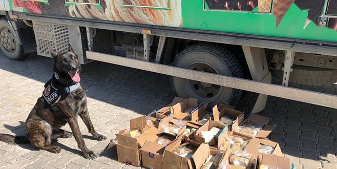 Dondurma kamyonunda 80 kilo eroin