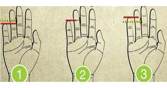 Serçe parmağınıza bir bakın! Sizinle ilgili birçok özelliği ortaya çıkarıyor