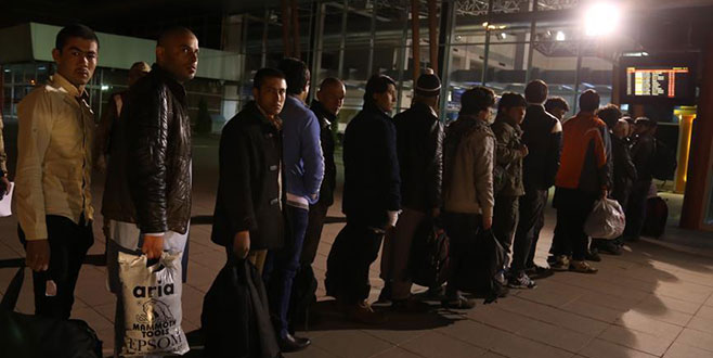 Afganistan uyruklu 6 bin 846 kaçak göçmen ülkesine döndü