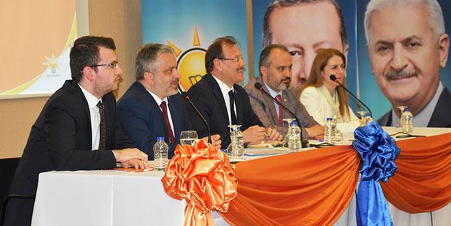 AK Parti Bursa'dan beraberlik mesajı