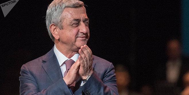 Sarkisyan protestolara rağmen başbakanı oldu