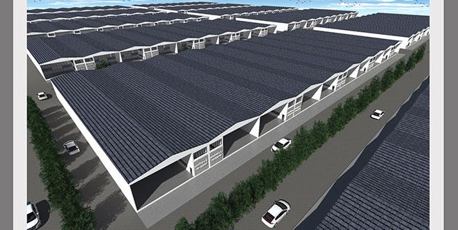 Yenişehir'e modern sanayi sitesi