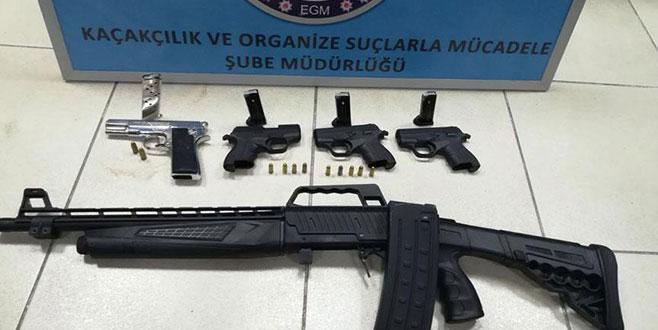 Sosyal medyadan silah satışına gözaltı