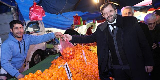 Yenidoğan kapalı pazaryerine kavuşuyor