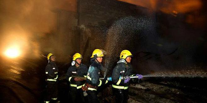 Barda yangın: 18 ölü