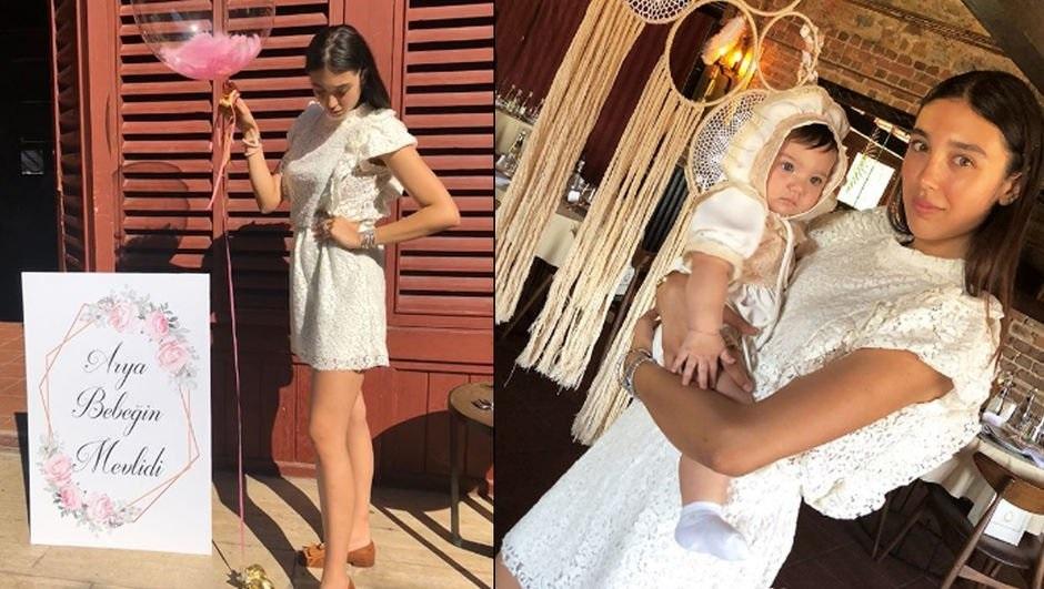 Kızının mevlidinde mini elbise giydi, sosyal medyada olay oldu!