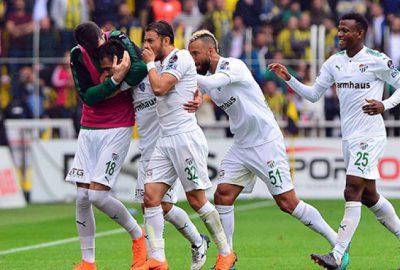 Fenerbahçe-Bursaspor maçından kareler