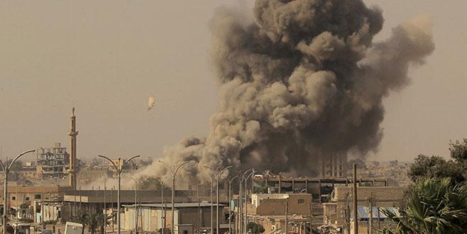 Suriye'ye gece bombardımanı