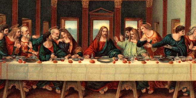 'Son Akşam Yemeği'nde ne yenmiş?