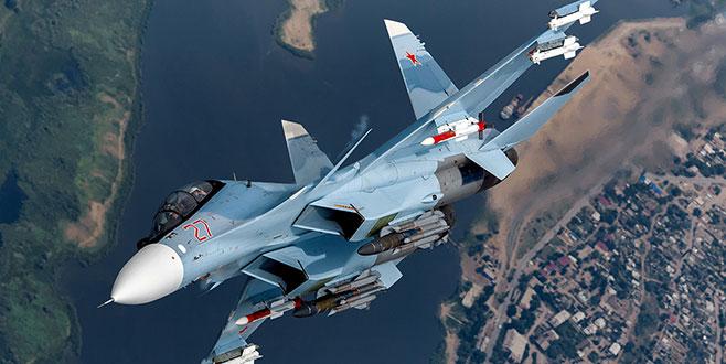 Rus savaş uçağı Akdeniz'e düştü