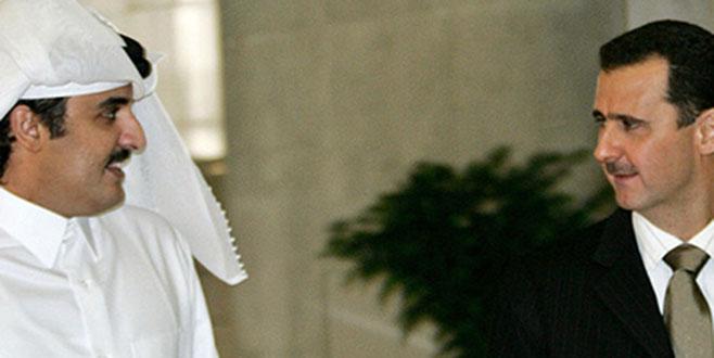 Esad Katar'la barışıyor