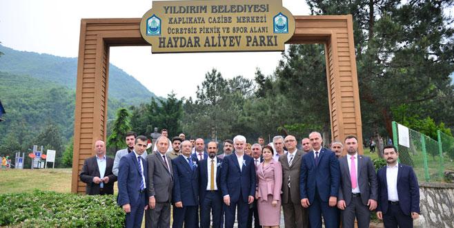 Aliyev Yıldırım'da anıldı