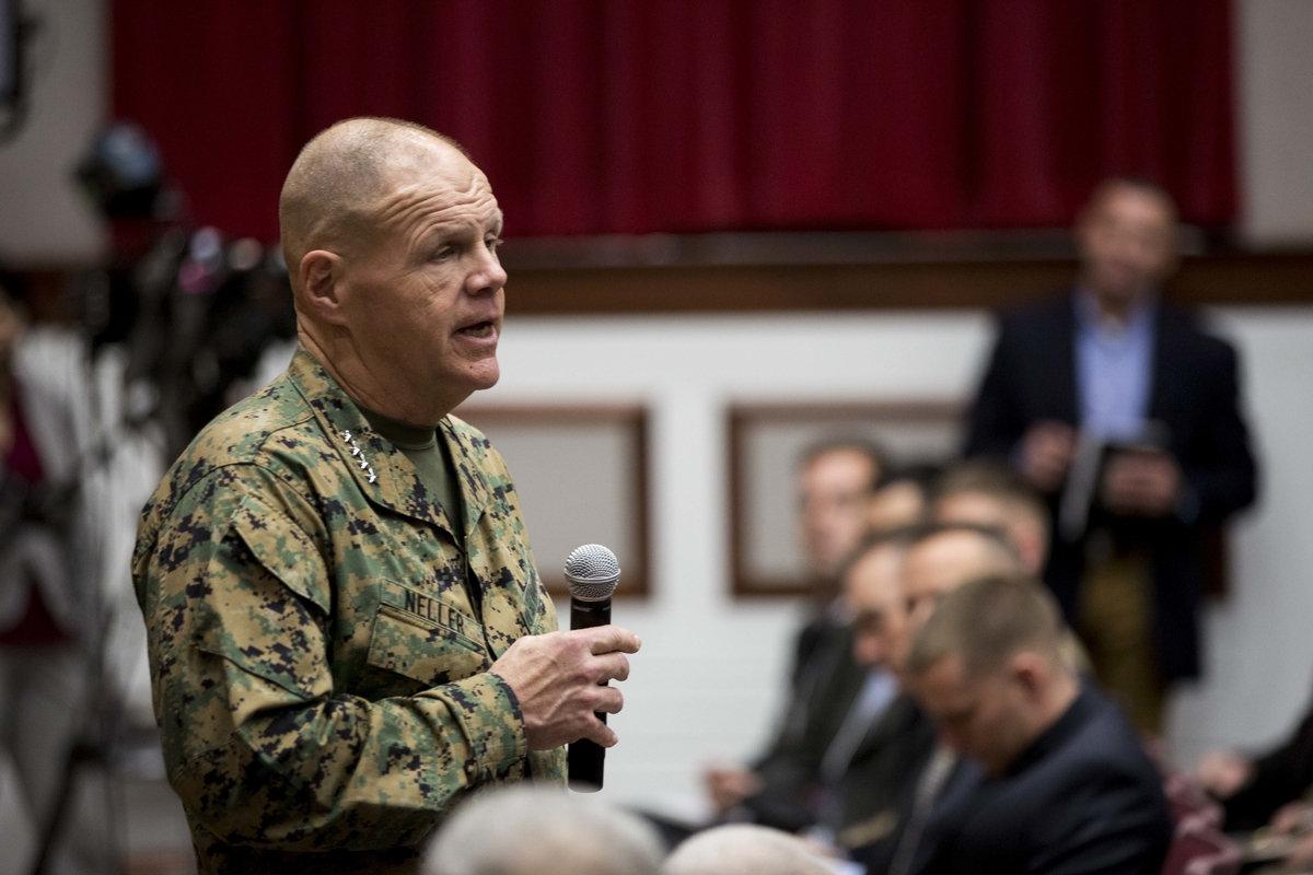 ABD'li komutan: Asıl mücahit biziz