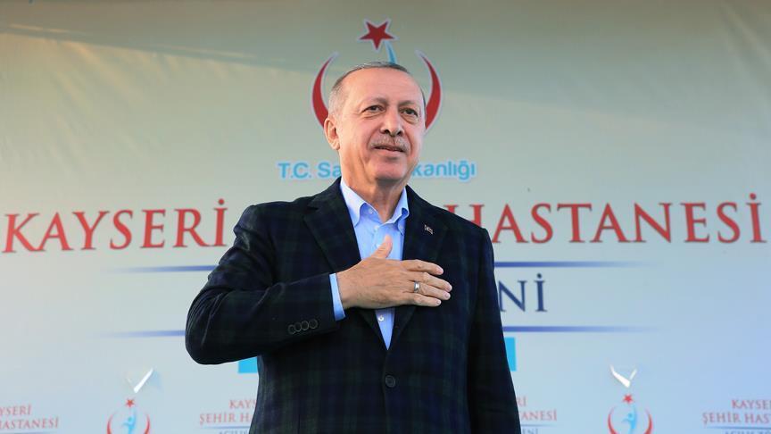 Cumhurbaşkanı Erdoğan: Türkiye artık geri döndürülemez bir yola girmiştir