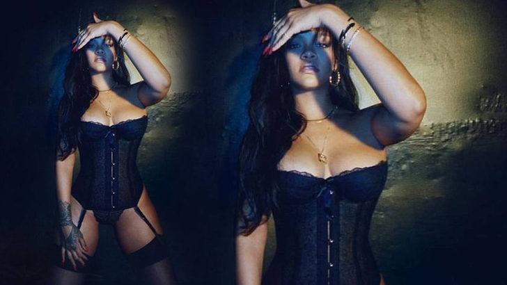 Rihanna'dan cesur pozlar! Kiloları umrunda değil